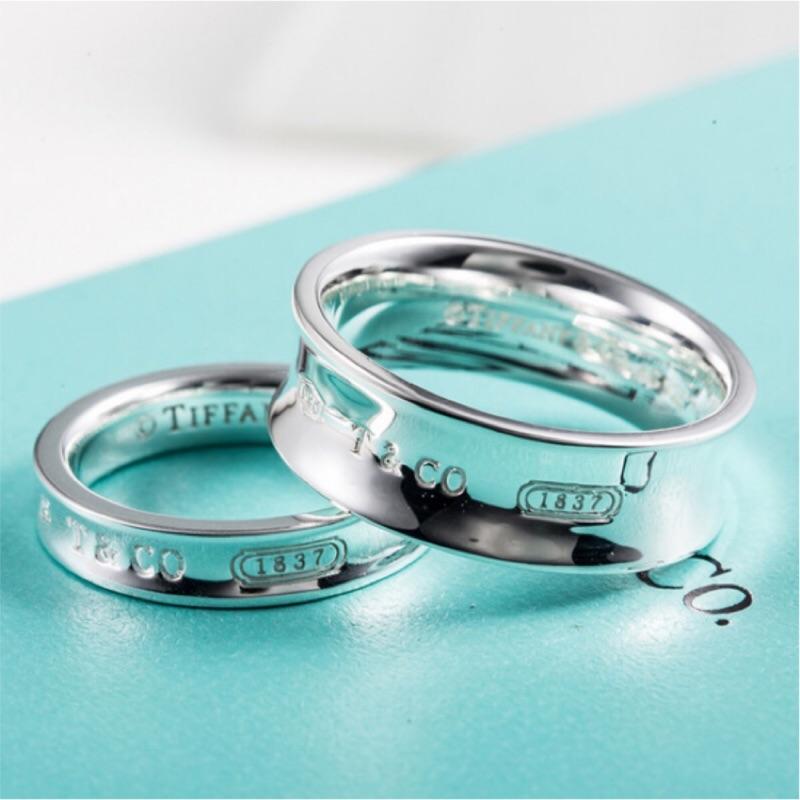 全新出清價 🎀Tiffany & Co. 愛心 單鑽 相思豆 項鍊 1837™系列戒指 蒂芬妮 純銀925 戒指 對戒