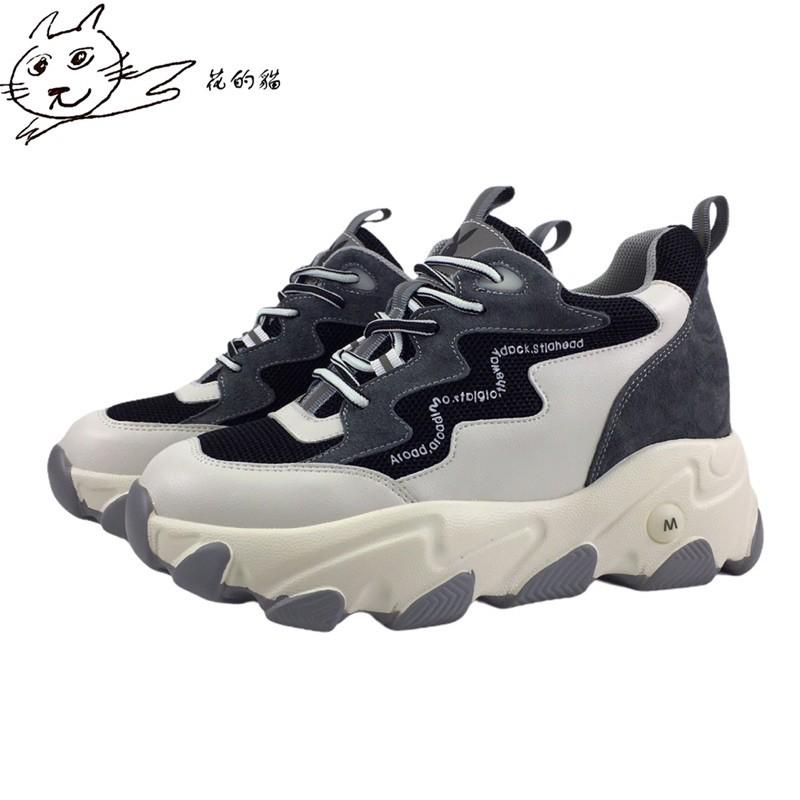 花的貓 play boy 老爹鞋 增高鞋 運動鞋 超輕量 內增高球鞋 秋冬新款 專櫃正品 Y6776