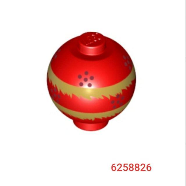 【台中翔智積木】LEGO 樂高 80102 80104 紅色 舞龍舞獅 彩球