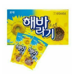 現貨優惠!韓國 樂天 火爆熱銷款 葵花子巧克力 葵瓜子巧克力 葵花籽巧克力 30g 新北市