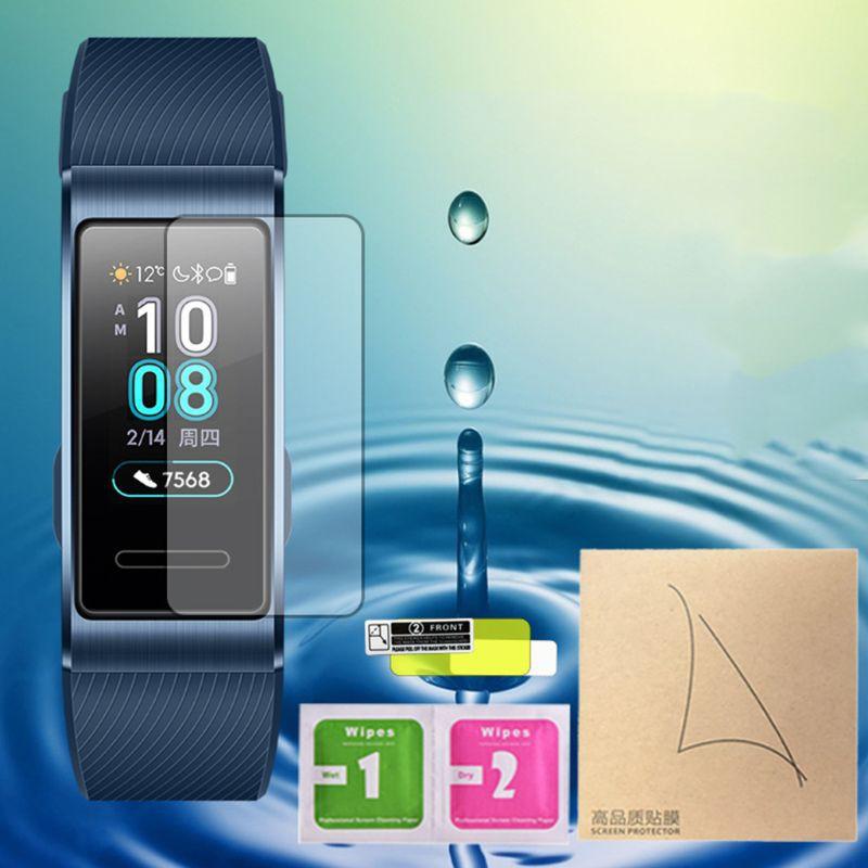華為 適用於 Huawei Band 3 / Pro 智能腕帶的 Uta 2 Pcs 保護膜屏幕保護膜