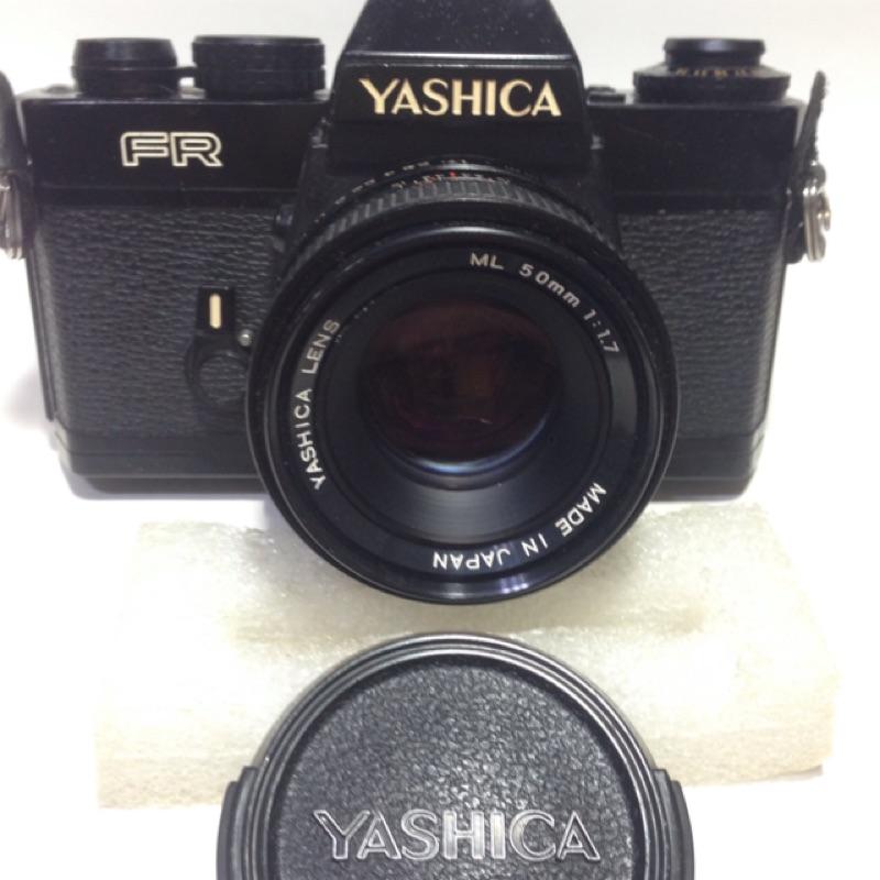 YASHICA FR 50mm f1.7 與CONTAX 同款