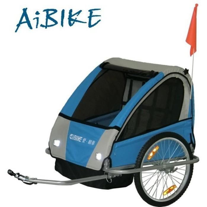新莊風馳電動車  AiBIKE新上市!! 20吋寶貝寵物三明治拖車 休閒親子車 (小摺 小徑 公路車 登山車 用)