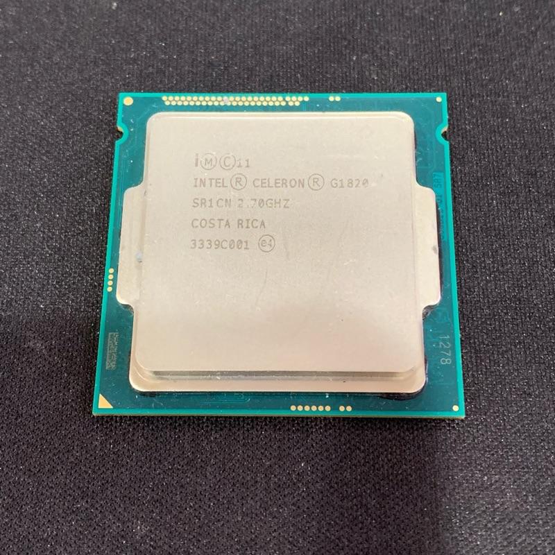 售CPU -INTEL 第四代 G1820/1150腳位/2.7G/良品