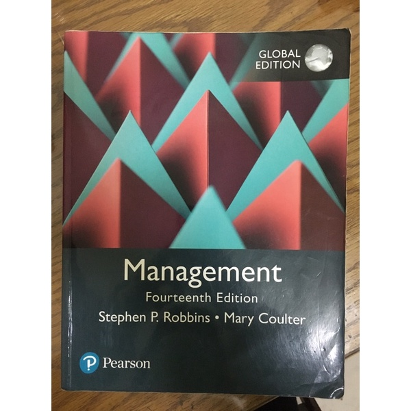 Management 管理學 Pearson 第14版