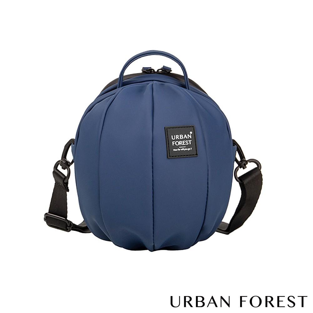 URBAN FOREST都市之森 甲蟲-Skin Touch膚感系列迷你斜背包/斜肩包(深海藍)