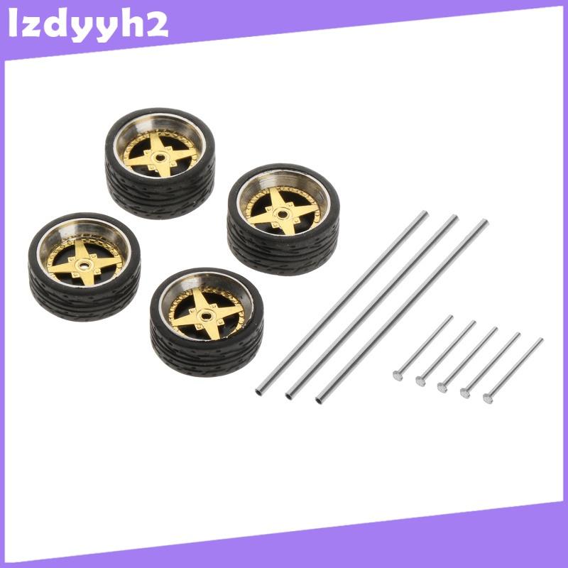 Superfeel  1:64秤壓鑄賽車模型車輪和輪胎套裝配件風格