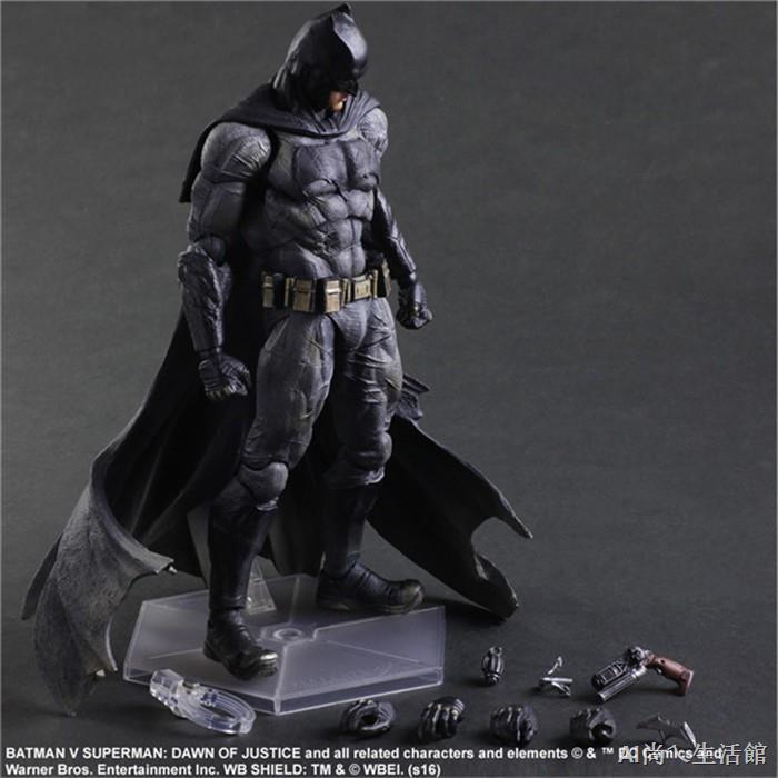 №✌™【可動】Play arts 重裝 蝙蝠俠 BATMAN PA改 阿甘 超級英雄 DC英雄 正義黎明 超人大戰 手辦