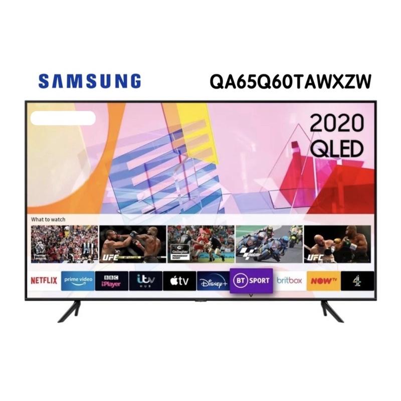 SAMSUNG 三星 QA65Q60TAWXZW  2020 65型 4K QLED 量子電視 Q60T