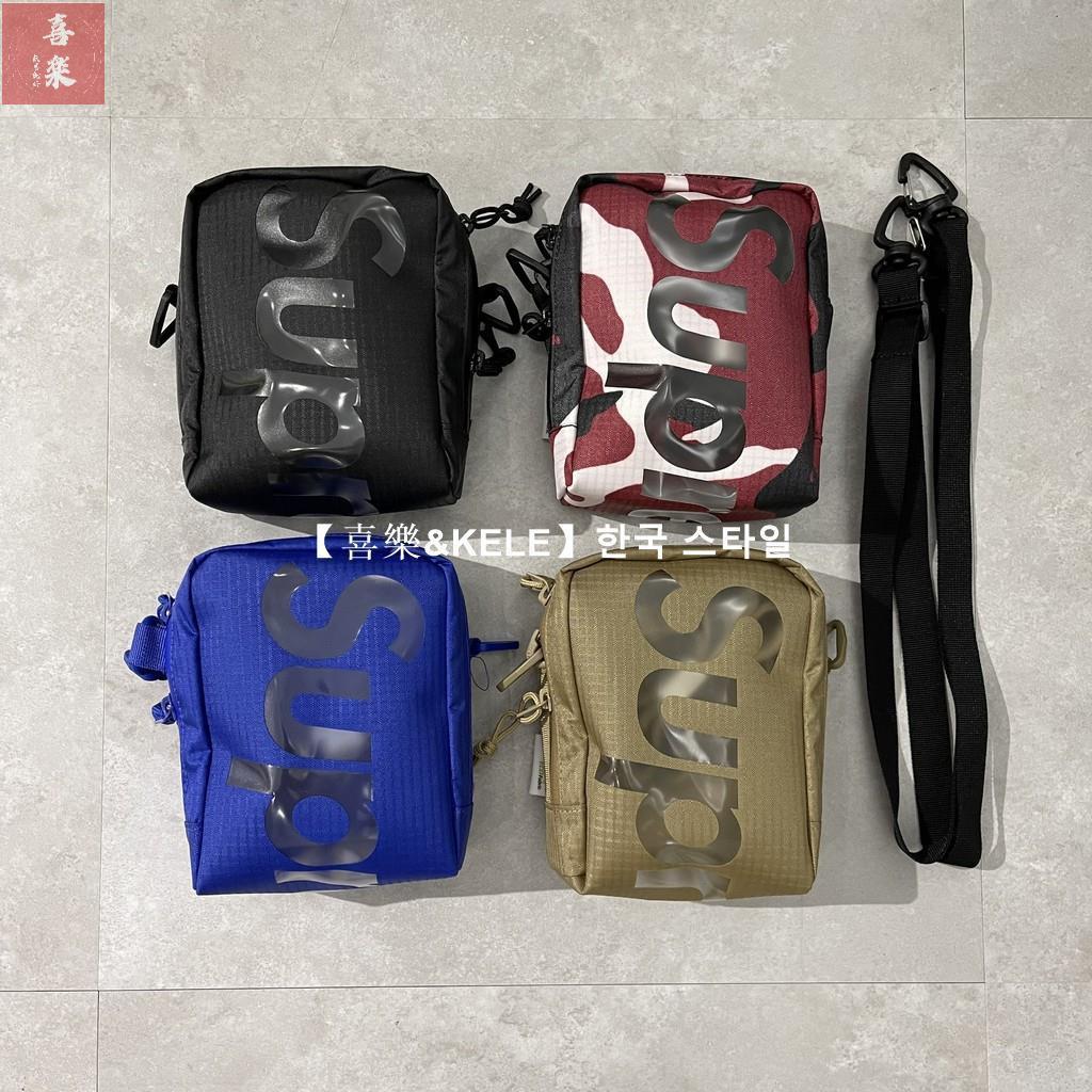 【한국 스타일KELE】2021 春夏 Supreme 50th Neck Pouch Bag 小包 肩包 包 旅行小包