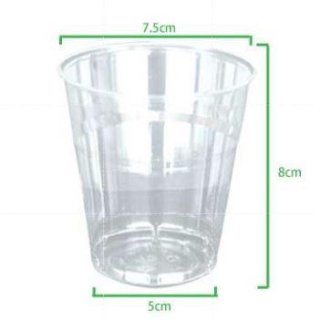 冷熱 免洗 透明塑膠杯 200cc 【1000入以上】 硬塑膠材質 重複使用 水晶杯 塑膠杯 免洗杯 飲料杯 水杯 漱口