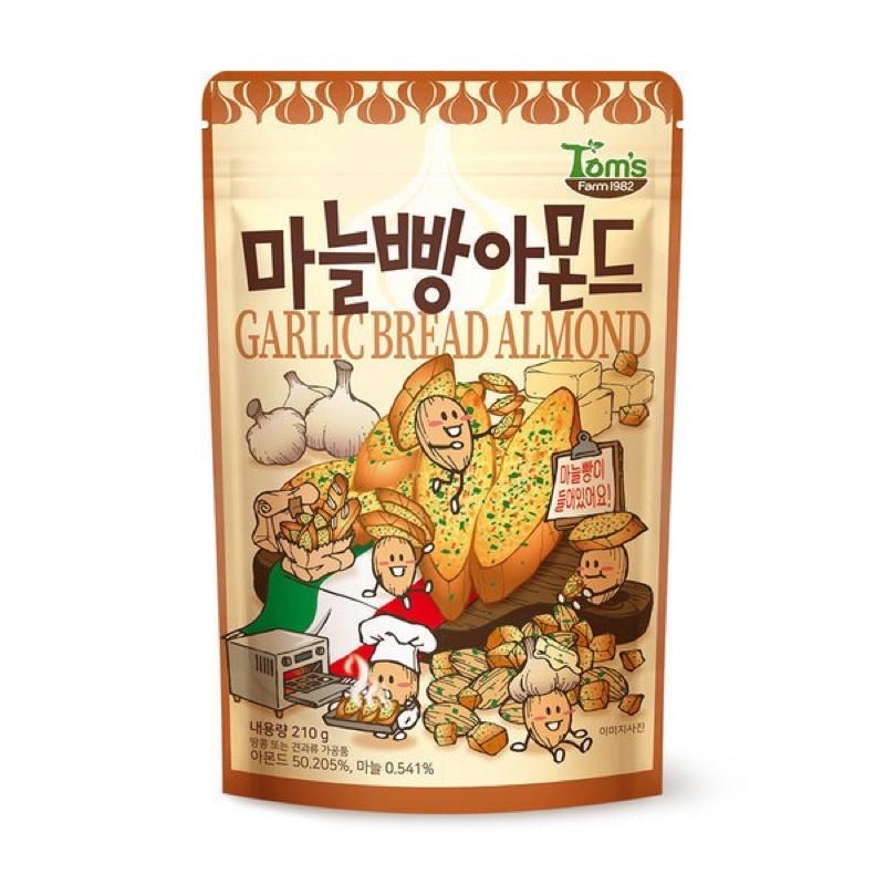 Toms Gilim 大蒜麵包杏仁堅果210g (L)