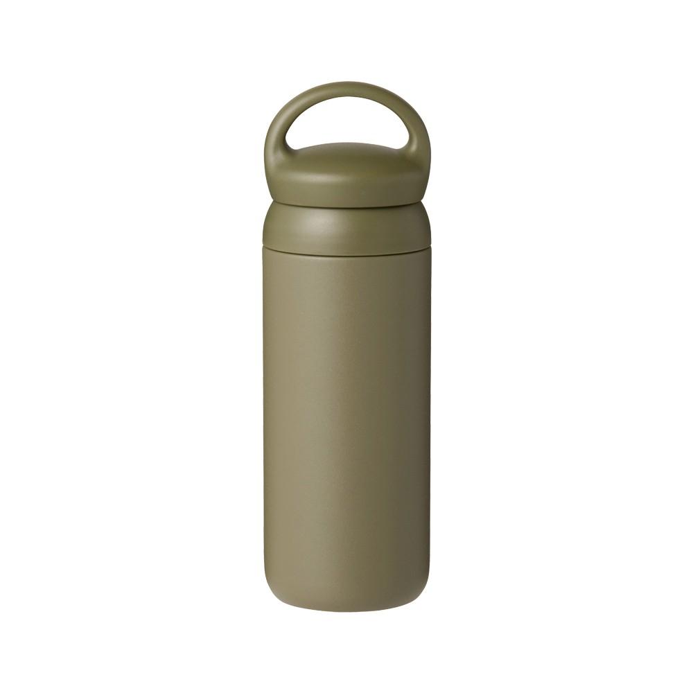 【KINTO】DAY OFF TUMBLER保溫瓶 500ml-灰綠