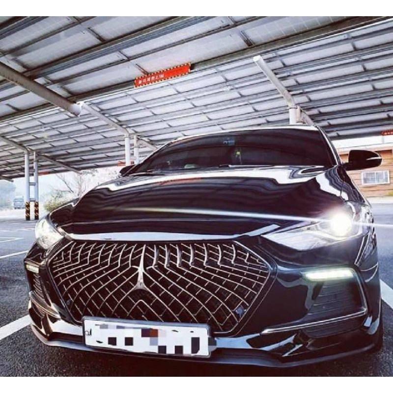 現代 Elantra Sport 專用排檔桿飾板  專用 Super Elantra 內裝碳纖維款貼片