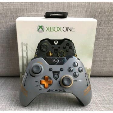 【台灣發貨】 限量版Xbox one 手柄使命召喚電腦pc無線有線套裝接收器Xbox 360無線手把 手柄 原廠