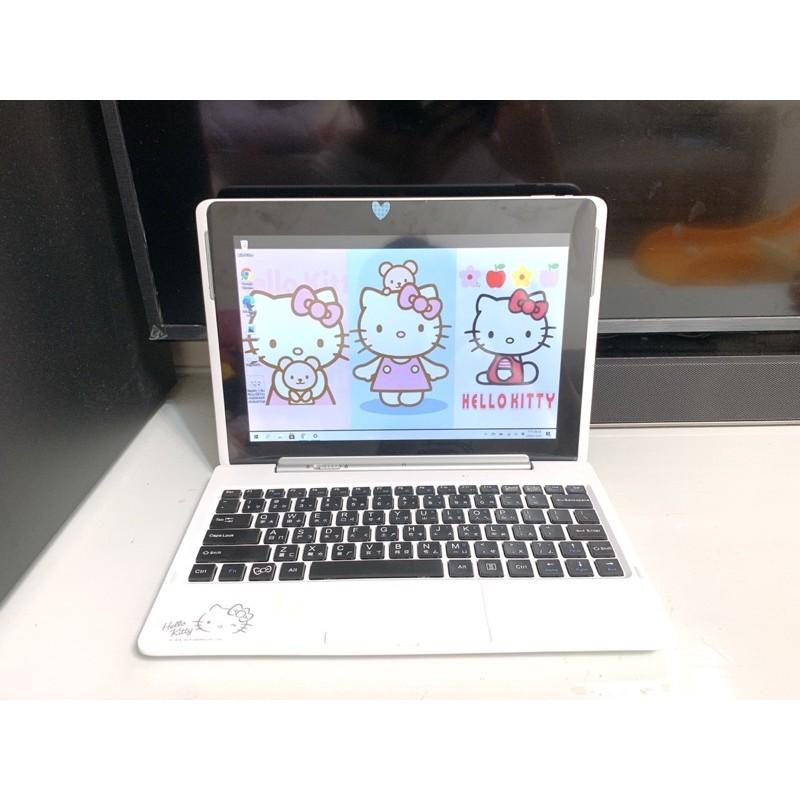 二手-Hello Kitty 10.1吋變形小筆電