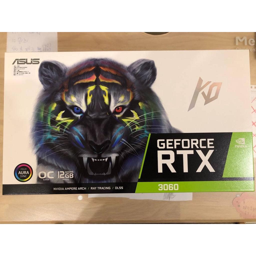 【可刷卡分期 即將絕版】顯示卡 ASUS KO GeForce RTX3060 OC 12GB GDDR6 全新現貨