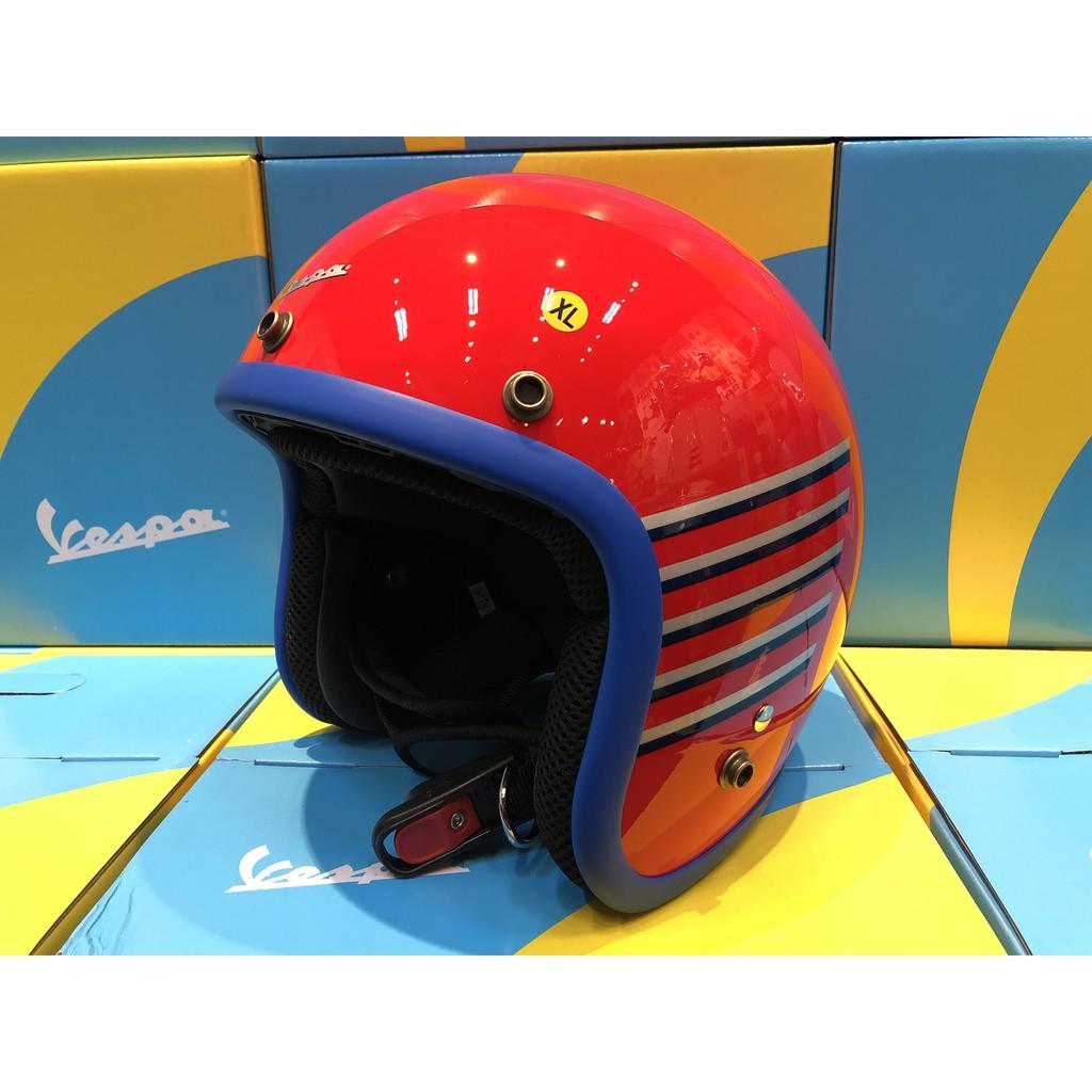 【VESPA RAGAZZO】Vespa Graphic 原廠系列安全帽 紅款
