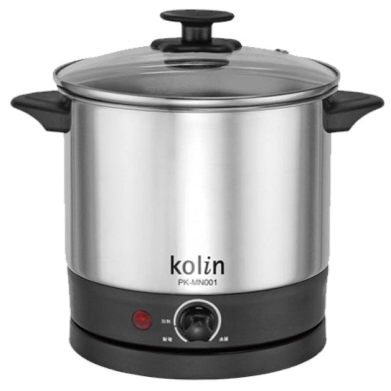 歌林高級不鏽鋼美食鍋1.5公升