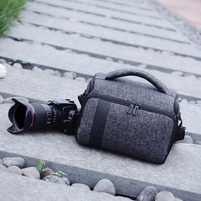 索尼尼康佳能相機包單反單肩攝影包EOS800D200D60D70D80D便攜男女