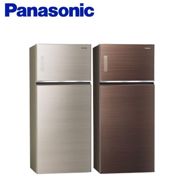 Panasonic國際牌 (可議價) 579公升變頻雙門電冰箱(玻璃面無邊框) NR-B589TG
