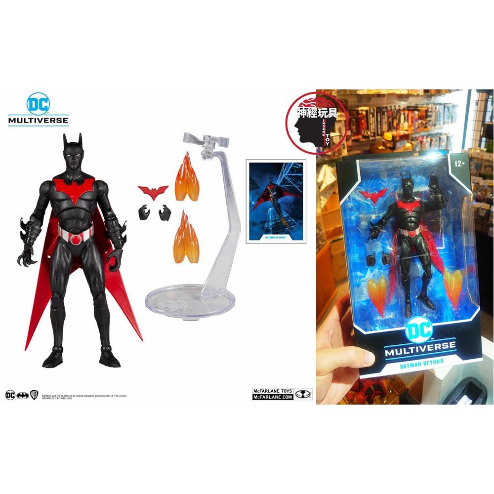【神經玩具】現貨 麥法蘭 DC Multiverse 未來蝙蝠俠 7吋可動人偶 BATMAN BEYOND