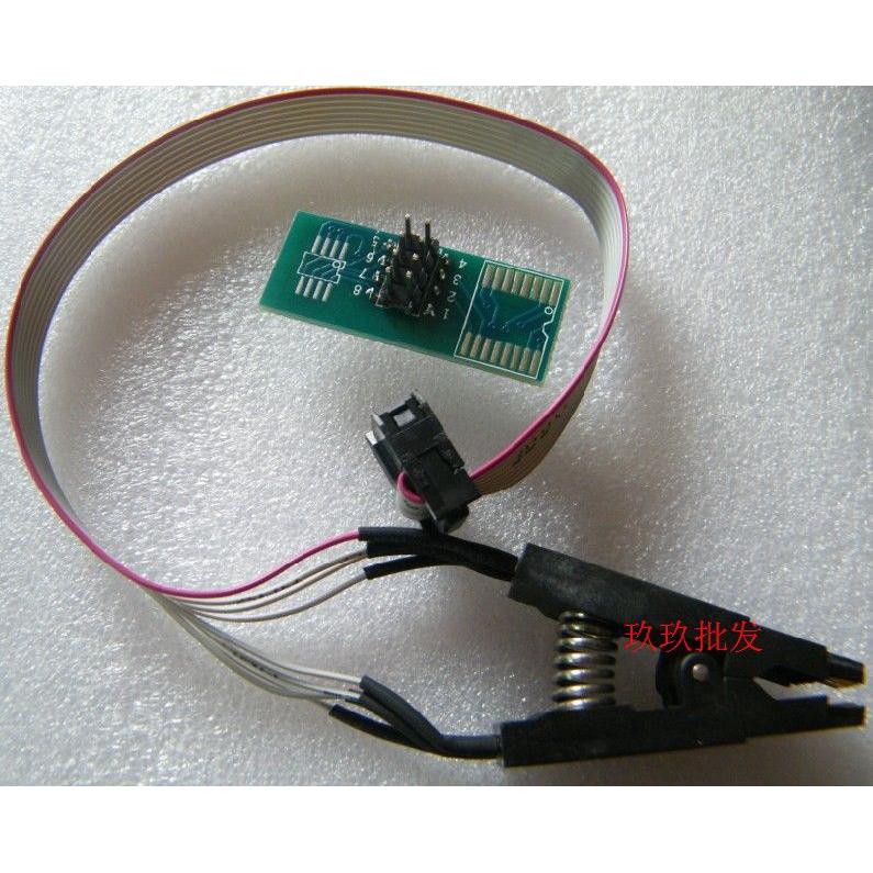 測試夾 SOP8夾子 SOIC8夾 寬窄體芯片都適用 燒錄夾具