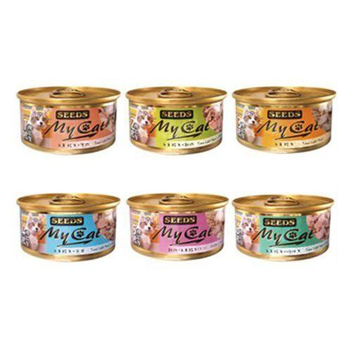聖萊西Seeds惜時 MyCat我的貓 機能餐貓罐85g 貓罐頭 六種口味【24罐組】『WANG』