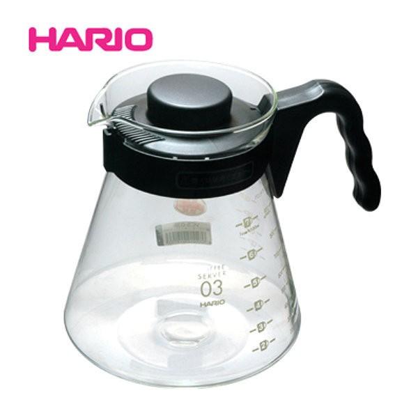 日本HARIO VCS-03B 耐熱玻璃壺 1000 ml 咖啡壺