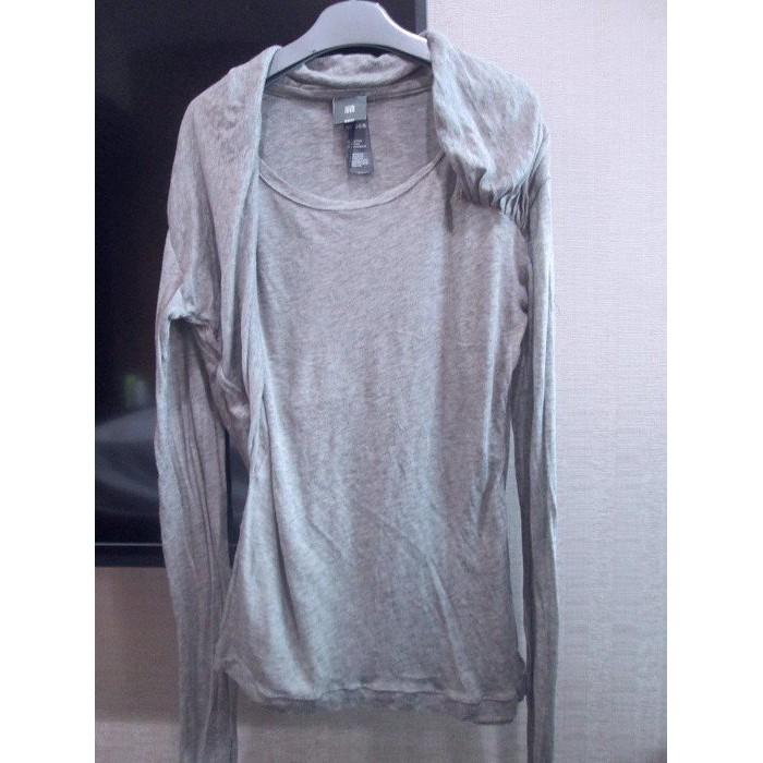 法國品牌lilith淺灰色羊毛Cashmere針織上衣