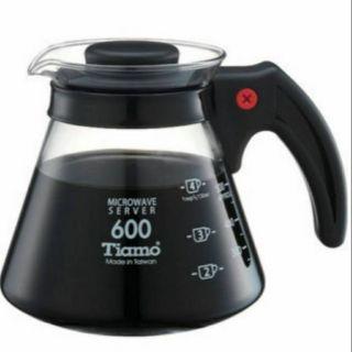 [現貨特價] Tiamo 台灣製 耐熱玻璃 咖啡壺 通過SGS Hario V60 kono 濾杯通用 臺中市
