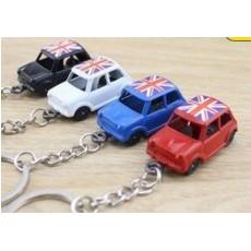 英國經典小車 奧斯汀MINI AUSTIN MK1 MINI COOPER S 老咪奧斯丁 鑰匙圈英國街頭出租車mini