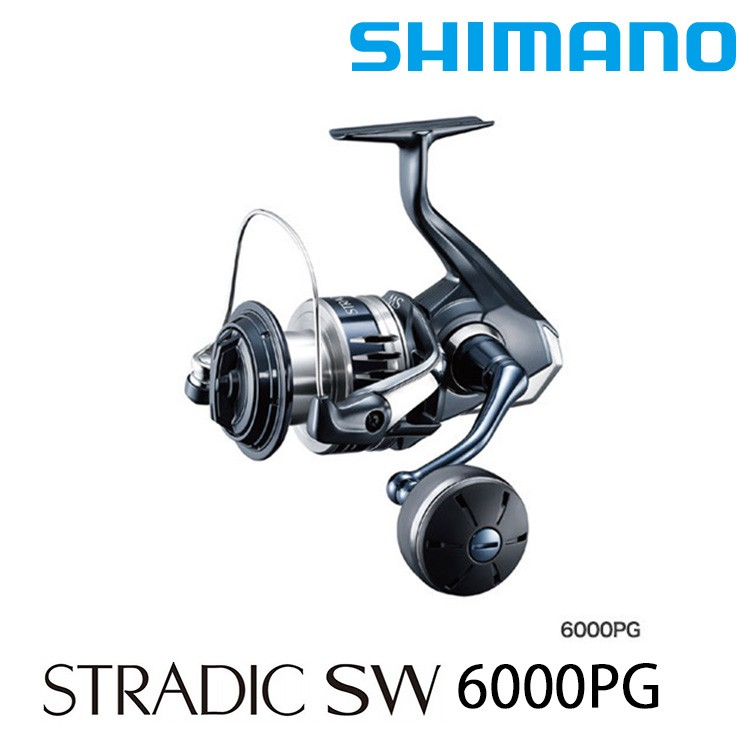 SHIMANO 20 STRADIC SW 6000PG [漁拓釣具] [紡車捲線器]