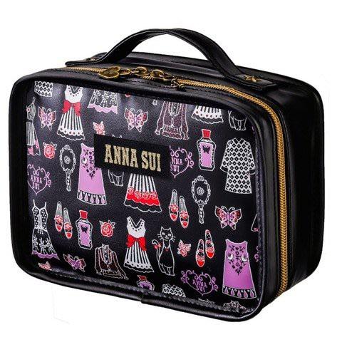 《瘋日雜》594日本雜誌MOOK附錄ANNA SUI 魔幻更衣室手提化妝包 收納包 整理包