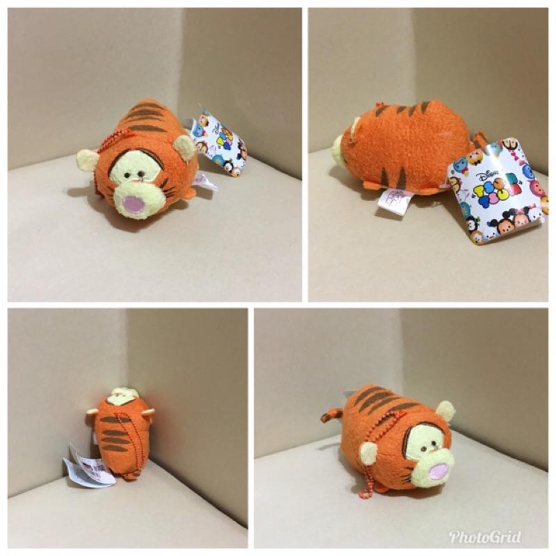 迪士尼 跳跳虎絨毛玩偶吊飾 鑰匙圈吊飾約 8公分