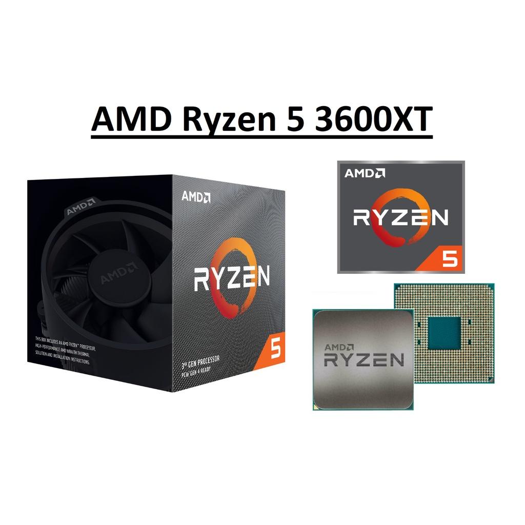 Cpu AMD Ryzen 5 3600XT 六角核心處理器 3.8-4.5 GHz, Socket AM4 、 95W