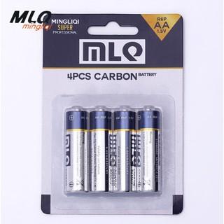 3號電池 品質保證 環保碳性AA電池 4號電池 品質保證 環保碳性AAA電池 電動玩具R6無汞1.5v鋅錳乾電池長效型 臺中市