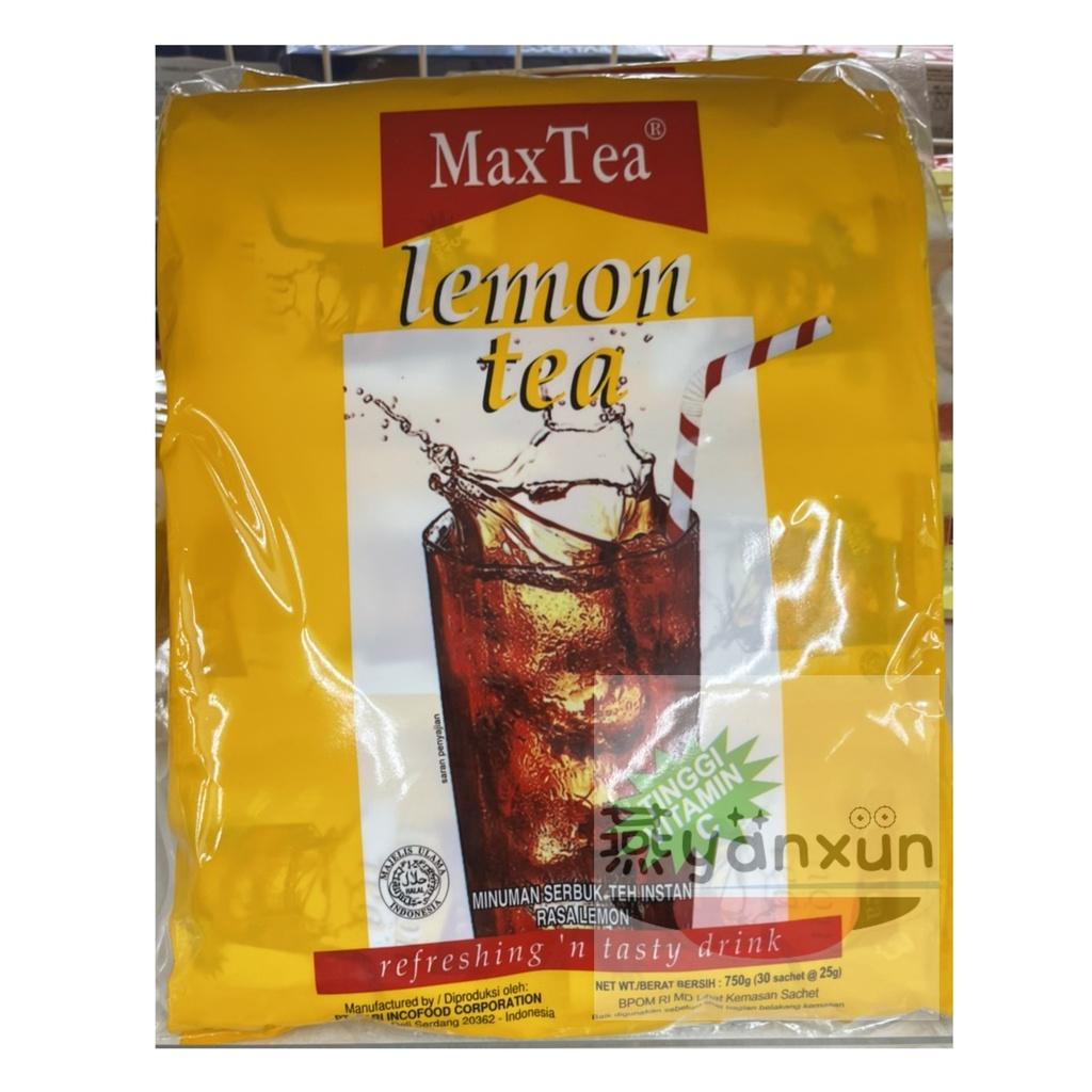 【Yanxun購物】印尼_MaxTea即溶檸檬茶 LemonTea 750g(25g*30包)