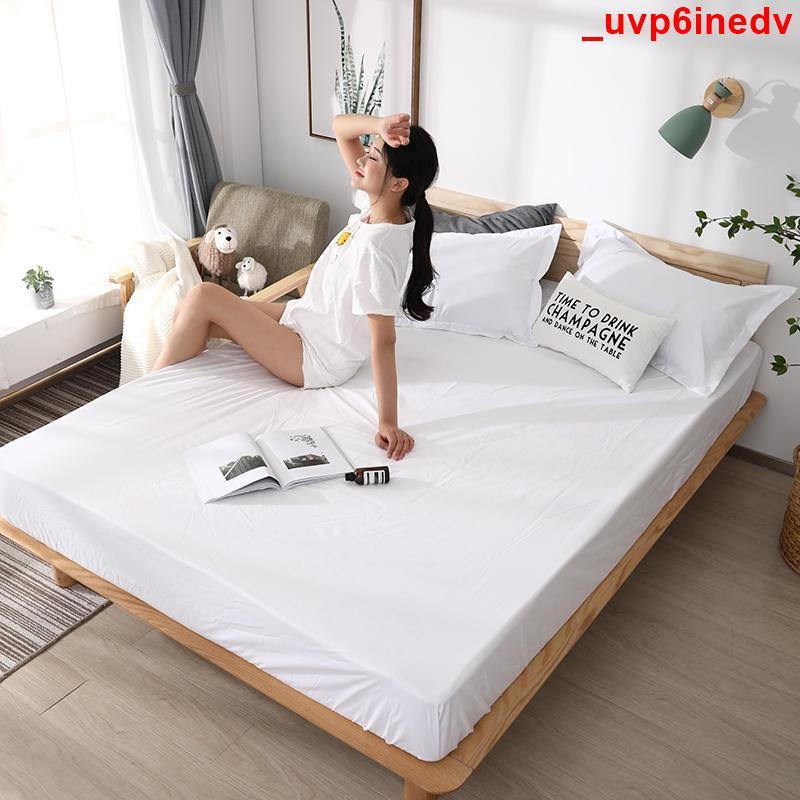 萬泰·床包式防水保潔墊 單人/雙人/加大雙人 加厚防水親膚面料 白色