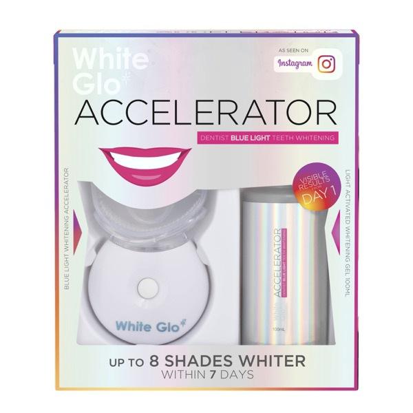 澳洲正貨【White Glo】 White Accelerator 藍光冷光牙齒美白儀