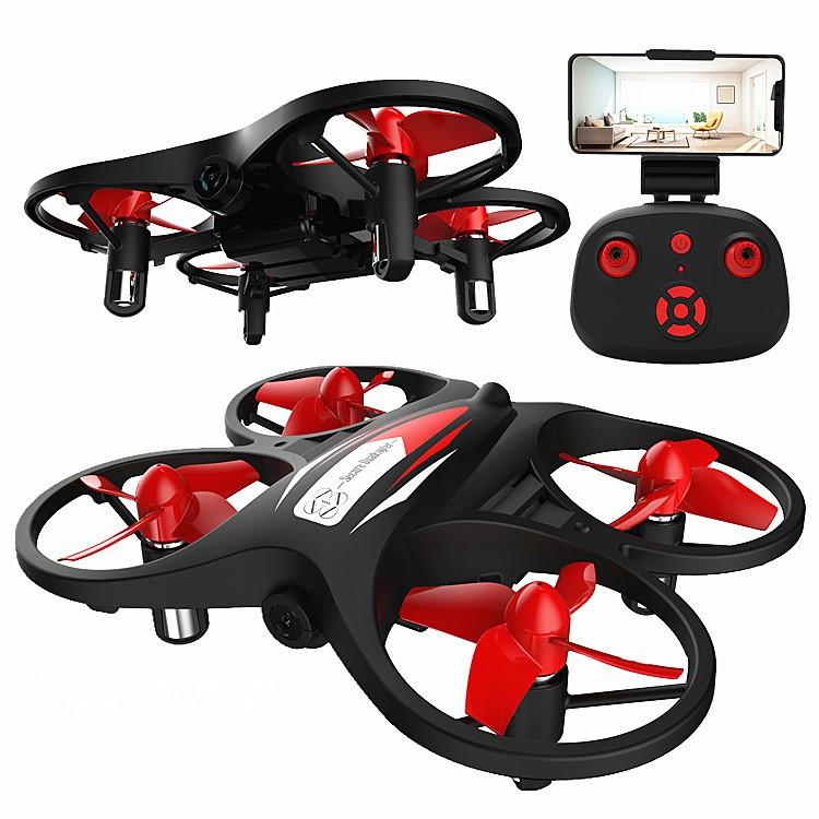 【雙電版】小鐵牛航魔館 KF608 迷你 四軸 航拍機 定高 WIFI鏡頭 遙控 飛機 無人機 DJI MAVIC