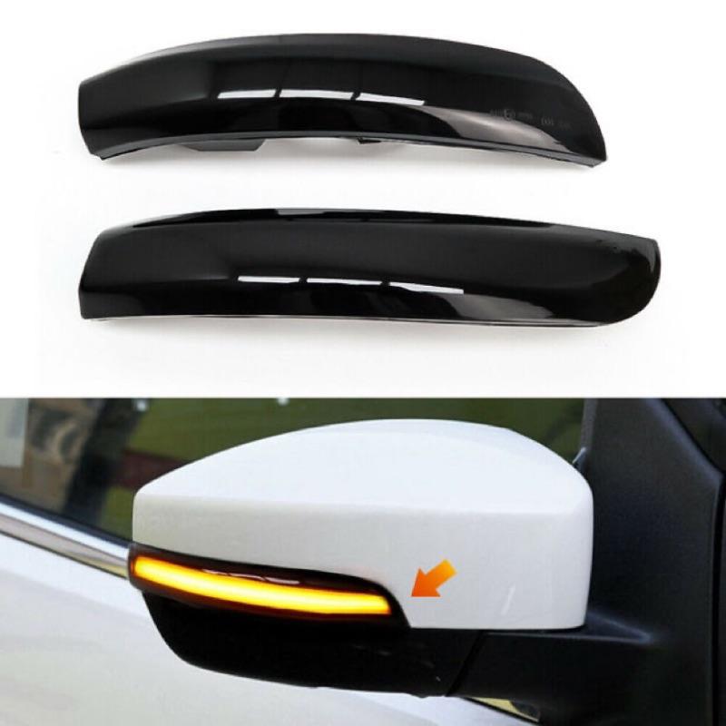 Ford Kuga 13-20 方向燈 模組 流水燈 燻黑 後視鏡 後照鏡