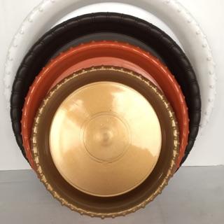 《黑咪醬の家》品名:塑膠底盤 大一/ 大二/ 1號(塑膠盤/ 圓盤/ 種植盆底/ 園藝資材) 臺南市