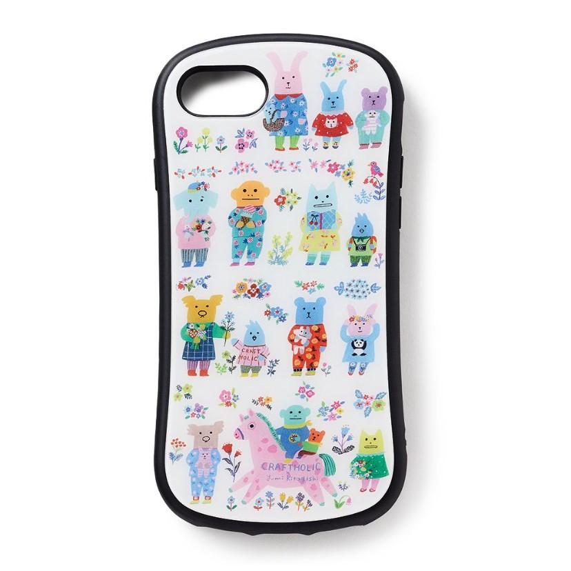預購 宇宙人 手機殼CRAFTHOLIC x YUMI KITAGISHI iPhone ケース(6/6S/7/8/X)