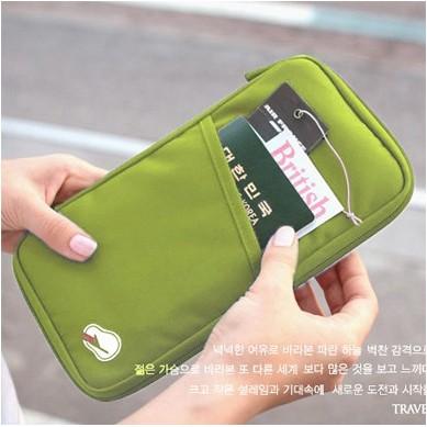 買一送一(送卡套)多功能護照夾