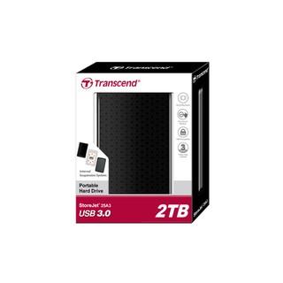 創見 StoreJet 25A3 2T 外接硬碟 2TB 外接式硬碟 USB3.0 隨身硬碟 高雄市