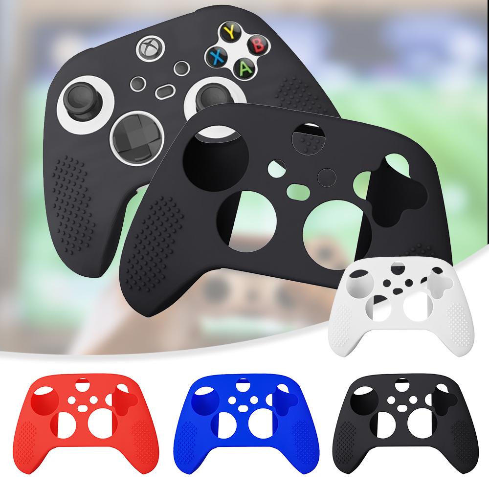 Xbox-Series X S Gamepad Tpu 保護套的手柄套矽膠套皮膚保護套
