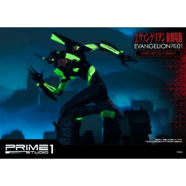 免運#Prime 1 Studio P1S 新世紀福音戰士 EVA 初號機 新劇場版 夜光