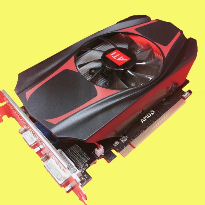 電腦顯示卡 AMD HD7670 4G 游戲裝機升級臺式機獨立顯卡 hd6770 4g 6570 7600 限時免運