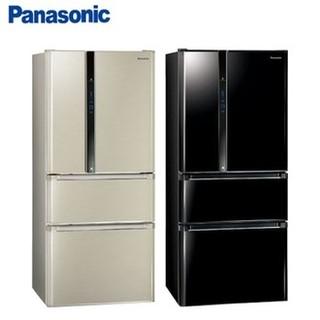 詢價優惠~ 國際牌Panasonic ECONAVI 610L變頻四門冰箱  NR-D618NHV 光釉黑 / 香檳金 高雄市
